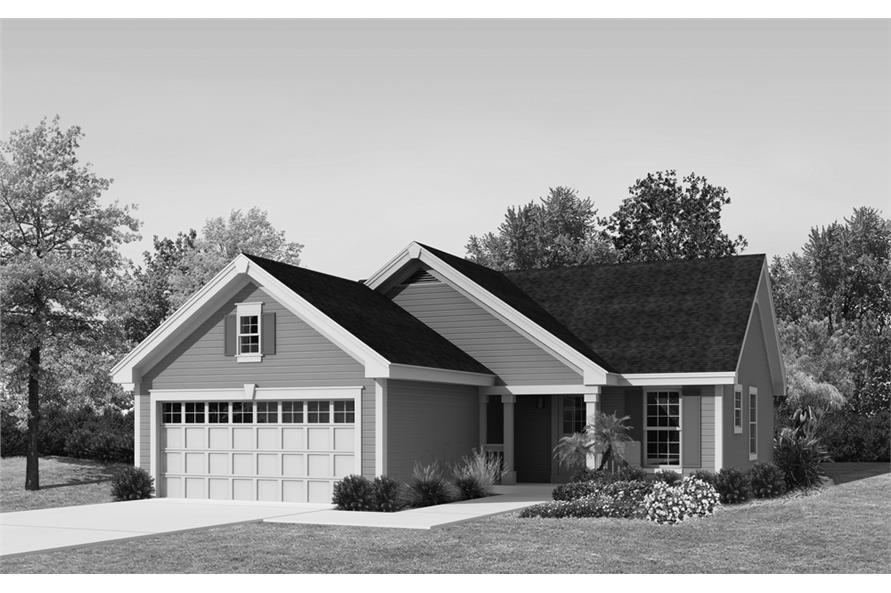 138-1226: Home Plan Rendering