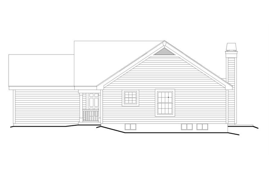 138-1226: Home Plan Right Elevation