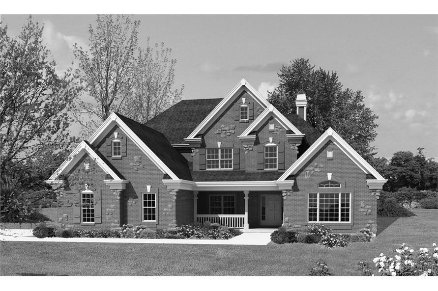 138-1228: Home Plan Rendering