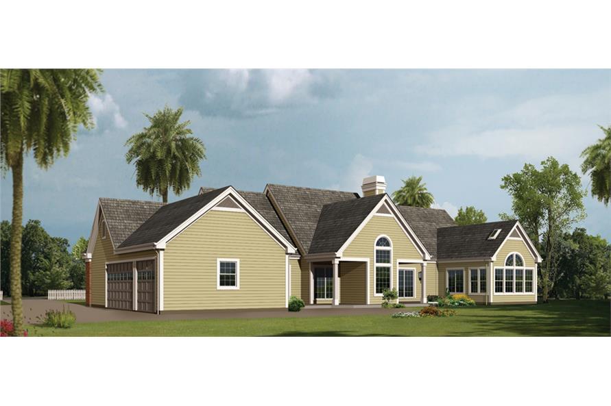 138-1229: Home Plan Rendering