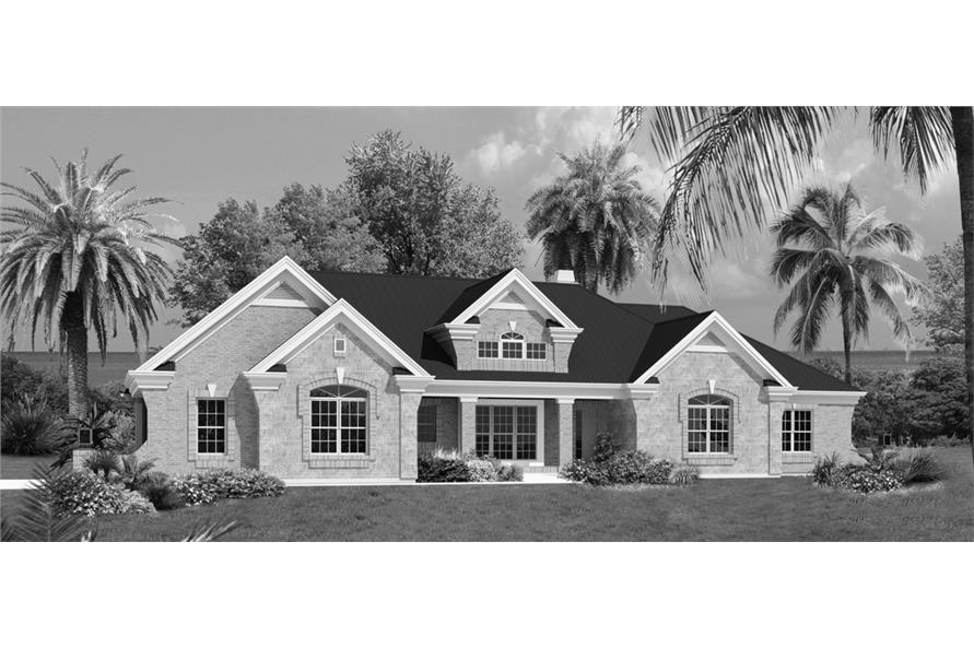 138-1230: Home Plan Rendering
