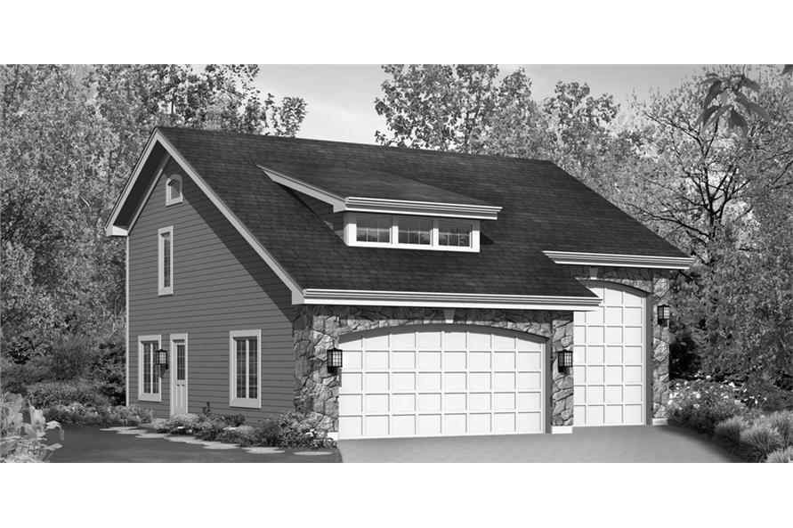 138-1232: Home Plan Rendering