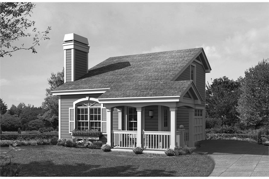 138-1233: Home Plan Rendering