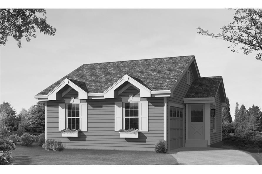 138-1234: Home Plan Rendering