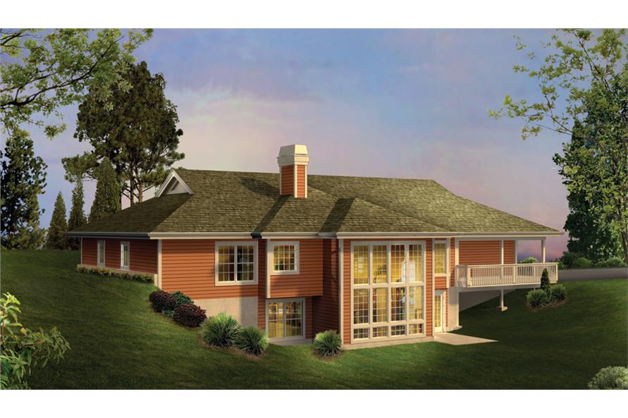 138-1238: Home Plan Rendering