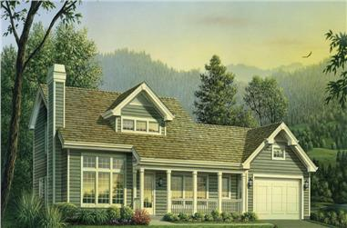 4-Bedroom, 2365 Sq Ft Country Home Plan - 138-1241 - Main Exterior