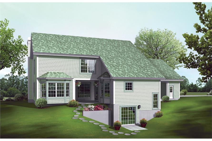 138-1243: Home Plan Rendering