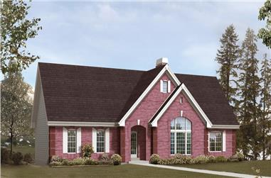 3-Bedroom, 2394 Sq Ft Traditional House Plan - 138-1245 - Front Exterior
