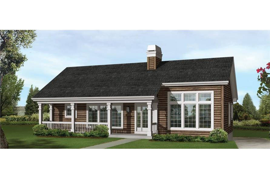 138-1246: Home Plan Rendering