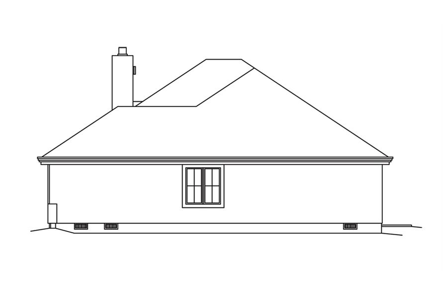 138-1252: Home Plan Right Elevation