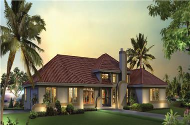 3-Bedroom, 2072 Sq Ft Ranch House Plan - 138-1252 - Front Exterior