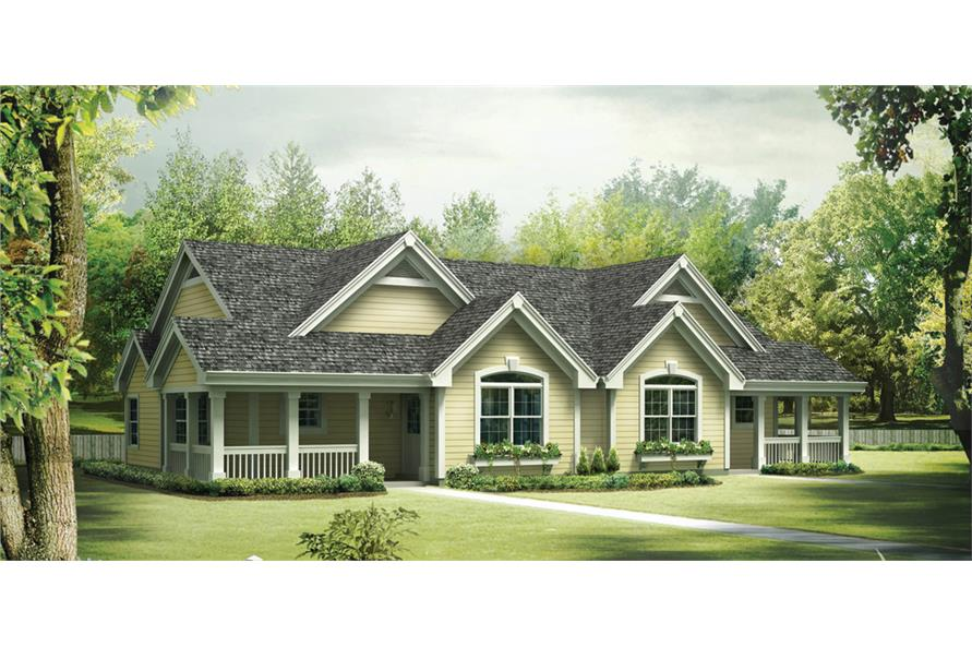 2-Bedroom, 2030 Sq Ft Multi-Unit House Plan - 138-1258 - Front Exterior