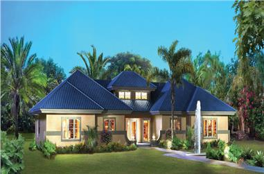 2-Bedroom, 2602 Sq Ft Multi-Unit House Plan - 138-1260 - Front Exterior