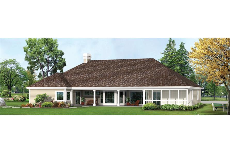 138-1263: Home Plan Rendering