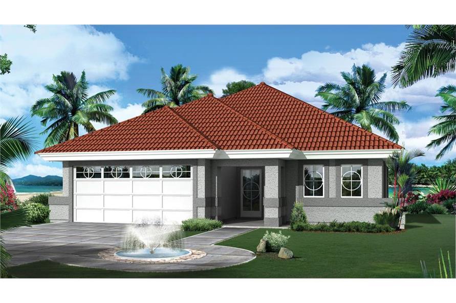 138-1265: Home Plan Rendering
