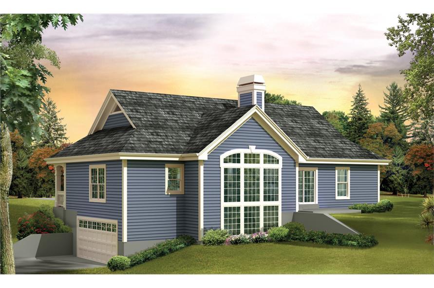 138-1268: Home Plan Rendering