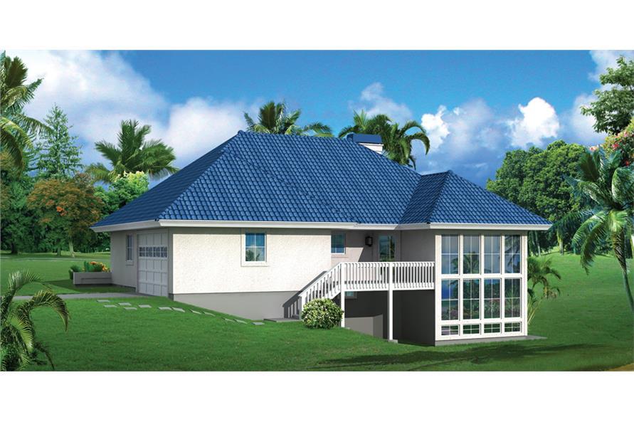 138-1277: Home Plan Rendering