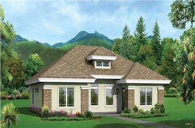2-Bedroom, 2040 Sq Ft Multi-Unit House Plan - 138-1279 - Front Exterior