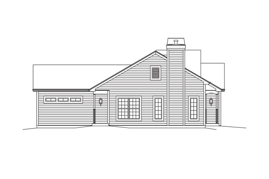 138-1294: Home Plan Left Elevation