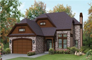 3-Bedroom, 2360 Sq Ft Arts and Crafts Home Plan - 138-1298 - Main Exterior