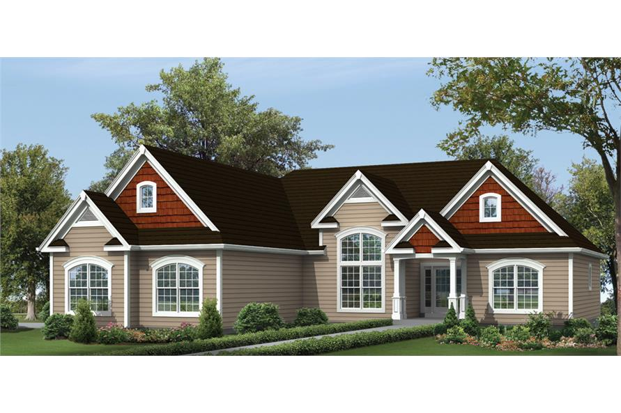 138-1299: Home Plan Rendering