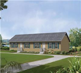 House Plan #138-1314