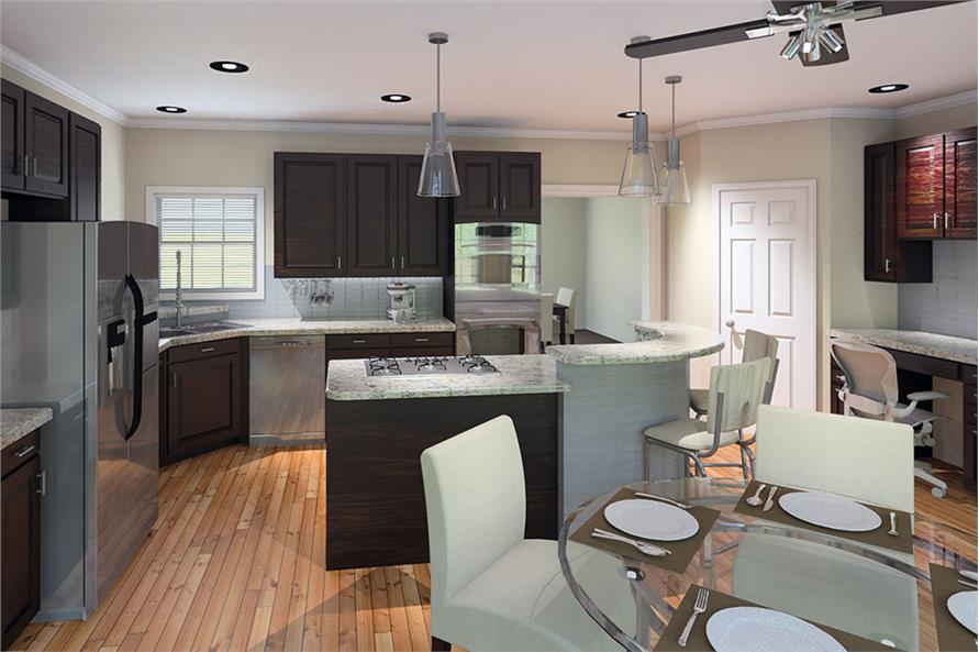 Kitchen of this 4-Bedroom,3782 Sq Ft Plan -3782