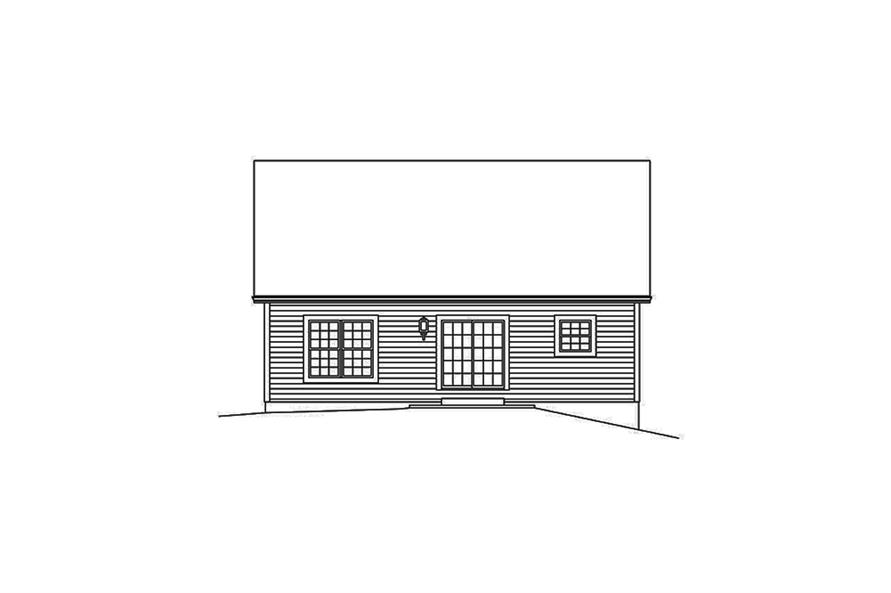 2 Bedrm, 1433 Sq Ft Country House Plan #138-1342 on train car house plans, railroad car home, passenger car house plans, freight car house plans,