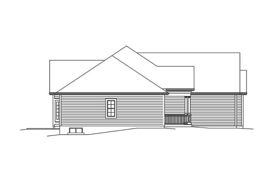 3 bedrm 1863 sq ft country house plan 138 1354 for 10 x 11 room square feet