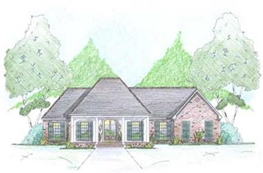 Main image for Traditional Home Plans # 18345