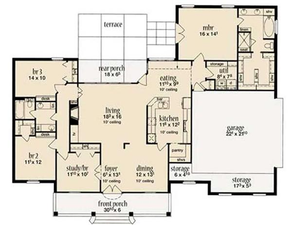 ROSE BAY HOME PLAN