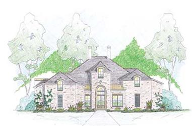 3-Bedroom, 3161 Sq Ft Cape Cod Home Plan - 139-1003 - Main Exterior