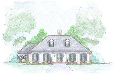 4-Bedroom, 1862 Sq Ft European Home Plan - 139-1004 - Main Exterior