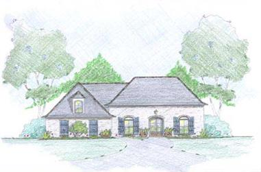 3-Bedroom, 1971 Sq Ft European Home Plan - 139-1005 - Main Exterior