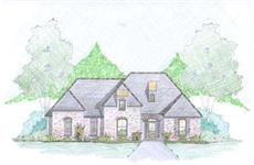 European Home Plans Front Elevation.