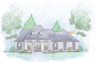 3-Bedroom, 2481 Sq Ft European House Plan - 139-1011 - Front Exterior