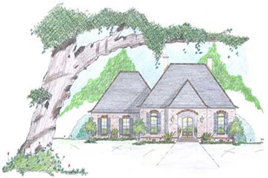 3-Bedroom, 2178 Sq Ft European House Plan - 139-1016 - Front Exterior