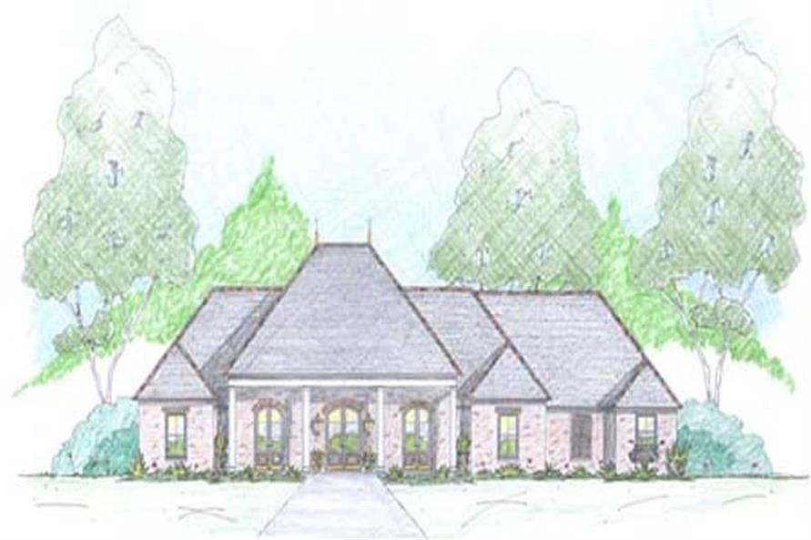 4-Bedroom, 2639 Sq Ft European Home Plan - 139-1017 - Main Exterior