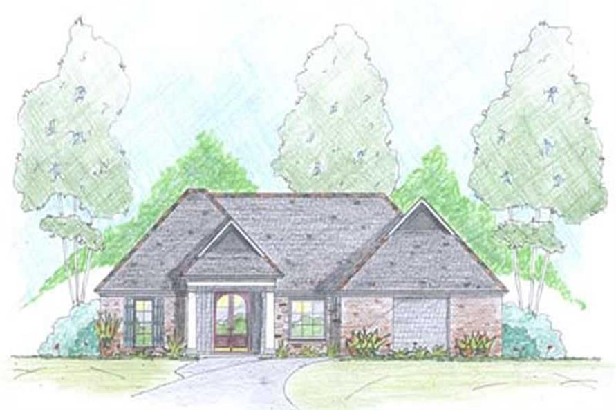Main image for Traditional homeplans # 18341