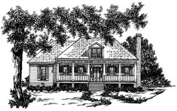 Main image for house plan # 8036