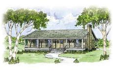 Main image for house plan # 8030