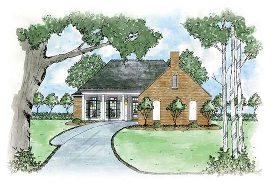 Main image for house plan # 8041