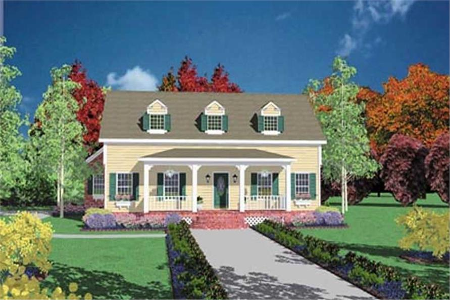 Main image for house plan # 7954
