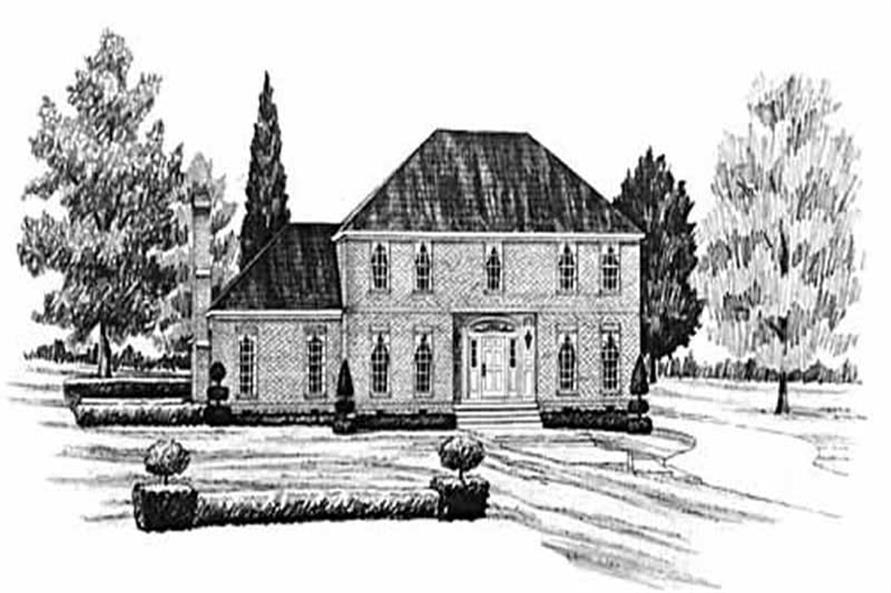 4-Bedroom, 2590 Sq Ft European House Plan - 139-1038 - Front Exterior