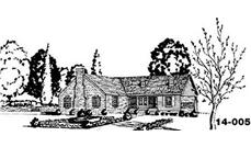 Main image for house plan # 8044