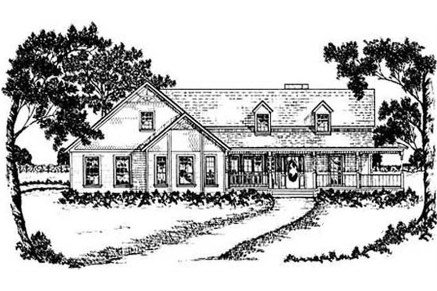 Main image for house plan # 8004
