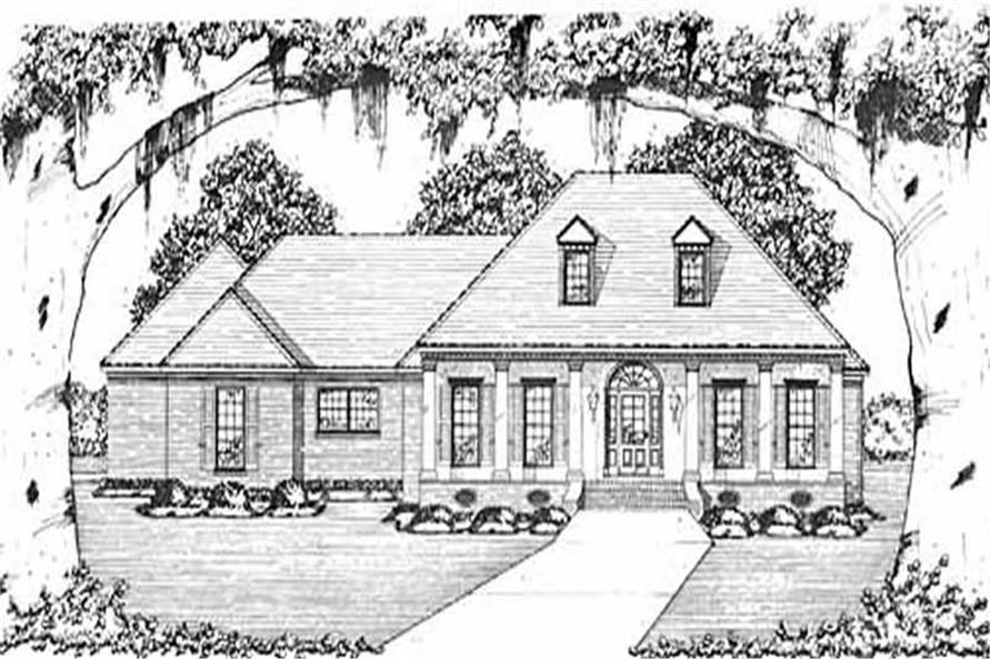 Main image for house plan # 8002