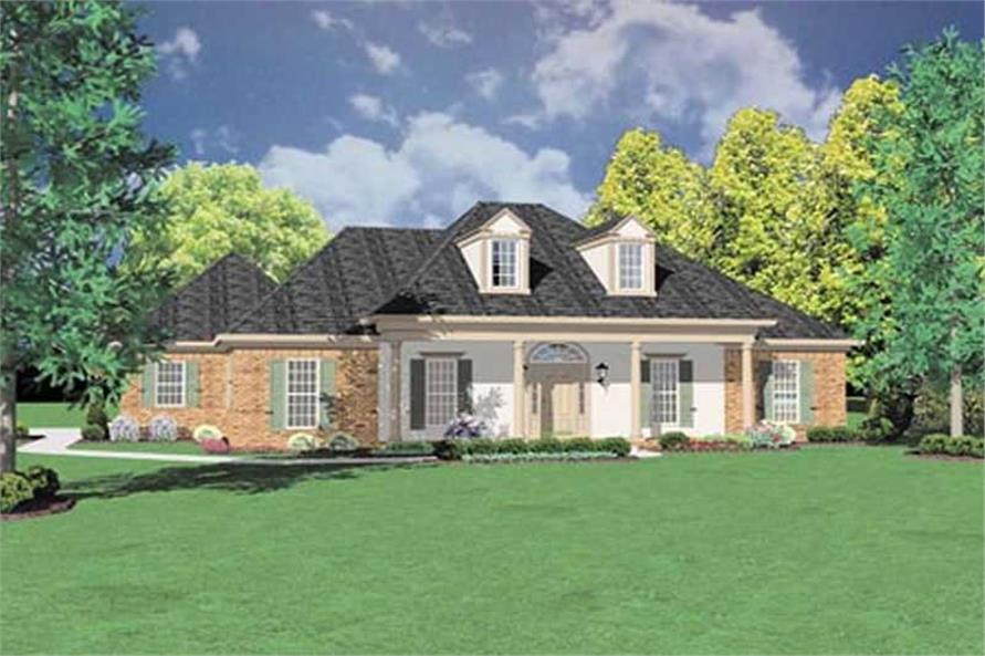 Main image for house plan # 7993
