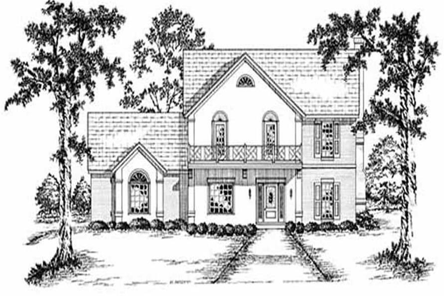 Main image for house plan # 7917