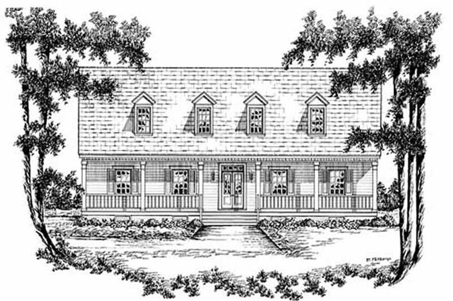 Main image for house plan # 7943
